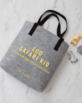 Kids Tote Safari Grey