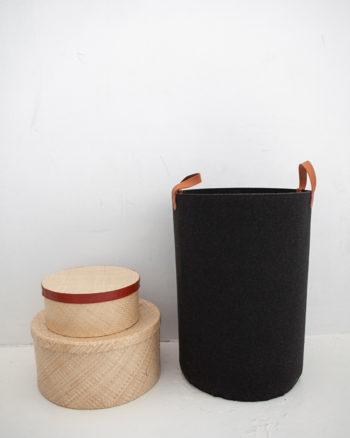 Laundry Basket Charcoal