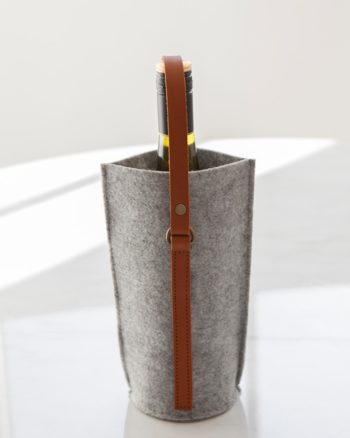Single Wine Carrier Grey