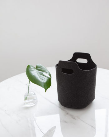 Storage Basket Planter Charcoal